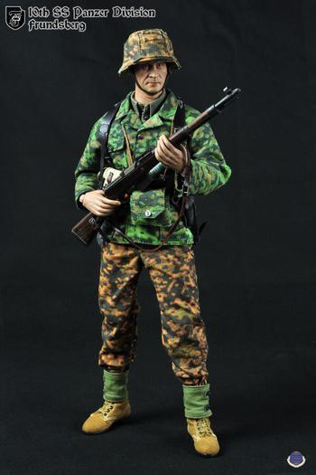 CalTek 1/6 Scale WWII German SS 10th Panzer Division Frundsberg Action Figure 8015 #CAL-8015